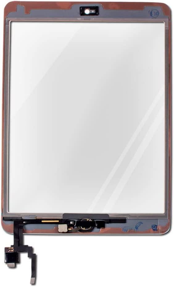 Touch Screen Digitizer for Apple iPad Mini 3 - Includes Home Button - A+ - White