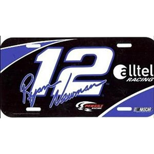 Ryan Newman License plates -