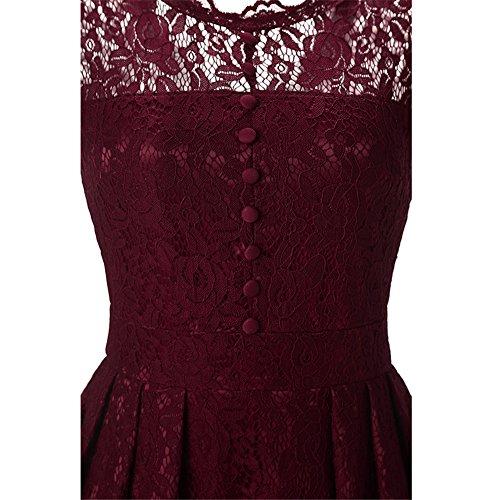 Très Chic Mailanda - Camiseta - para mujer Rojo