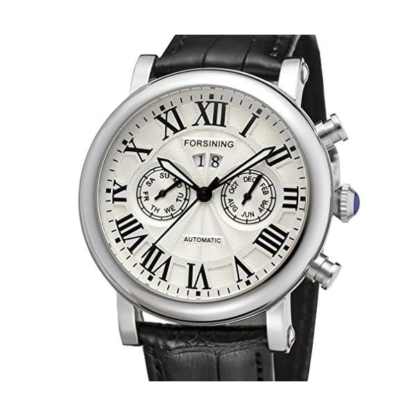 Forsining Men's Luxury Brand Calendar Automatic Wrist Watch FSG9407M3S1