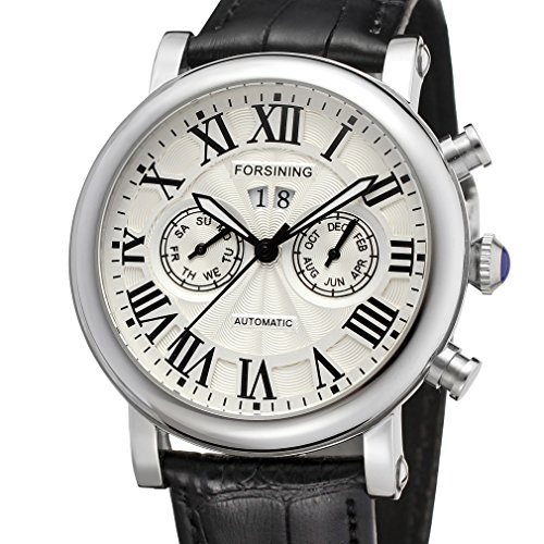 Forsining Men's Luxury Brand Calendar Automatic Wrist Watch FSG9407M3S1