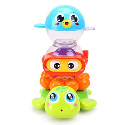 Lihgfw Baby Bath Toys, Kids Tub Shower Toy, Water Spray Bathroom Game, Interactive Fun Bathtime Gifts for 12-18 Months, Toddlers Infants Girls Boys: Sports & Outdoors