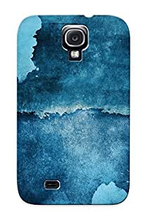 LVimXZM2736oIUlj Special Design Back Blue Paper Phone Case Cover For Galaxy S4