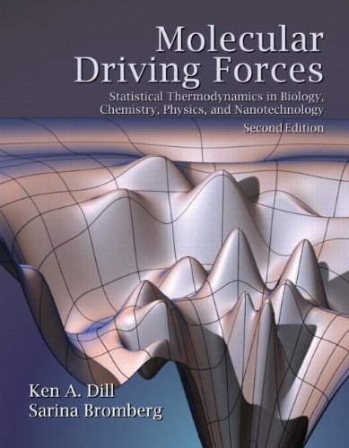 815344309 - Molecular Driving Forces: Statistical Thermodynamics in Biology, Chemistry, Physics, and Nanoscience, 2nd Edition