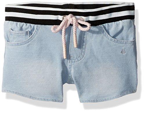 - Calvin Klein Girls' Big Denim Short, Light wash, Medium (8/10)