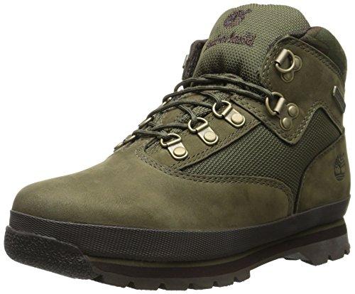 Timberland Euro Hiker Boot (Big Kid),Army Green/Camo,6 M US Big Kid ()