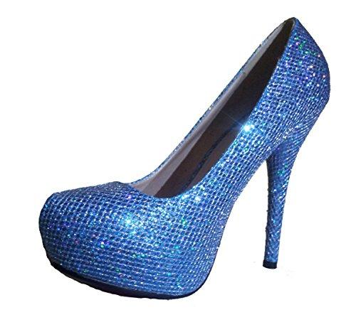Pumps azul modello altos Tacones High y mujer 1101400102001037 Heels diferentes Azul tamaños plata oro Stiletto modelos rojo de zapatos y oliva wEqq48fO