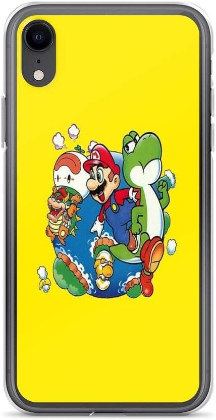 iPhone 6 Plus/iPhone 6s Plus Case Clear Anti-Scratch Super Mario World - Around The World, Super Mario Cover Phone Cases for iPhone 6 Plus, iPhone 6s ...
