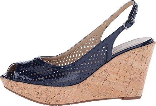 8 N Marine Emine VANELi Mag Patent Patent sandals Black Women's 4wqAw0YxX