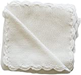 Alimrose Knit Mini Moss Stitch, Ivory