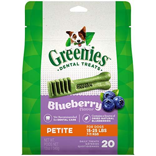 GREENIES Blueberry Natural Dental Dog Treats, 12oz Pack