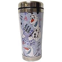 StealStreet SS-KHD-12010274 Disney Frozen Olaf 16-Ounce Acrylic Travel Mug