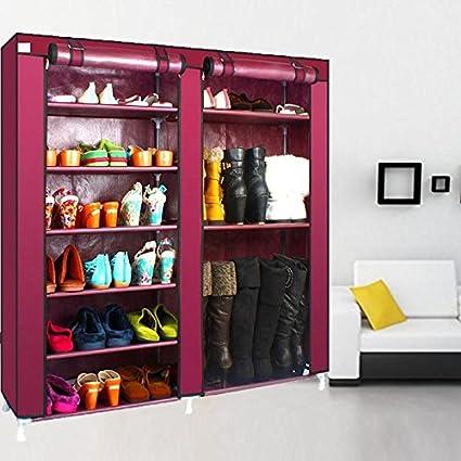 Shopybucket 6 Dual Layer Shoe Rack And And Boot Rack Diy