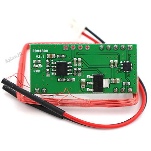 Asiawill RDM6300 125Khz EM4100 RFID Reader Module UART Output - Import It  All