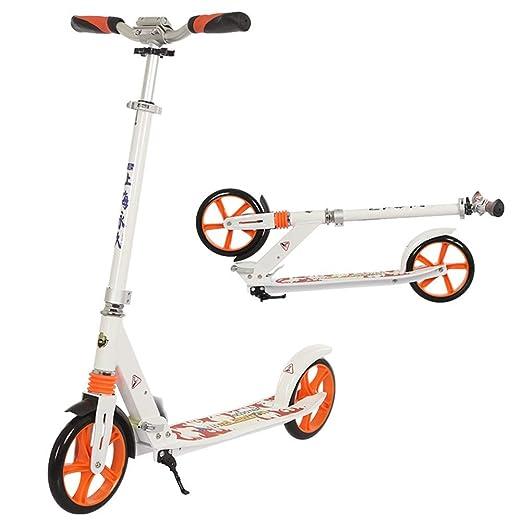 ACZZ Patinete plegable para adultos: planeador de ruedas ...