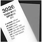 Rosco Cinegel Tough White Diffusion, 20 x 24 inches Sheet of Light Diffusing Material