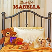 Thankful for Isabella: Personalized Gratitude Book