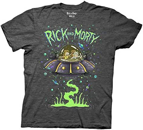 Ripple Junction Rick and Morty Ship Dumping Adult T-Shirt