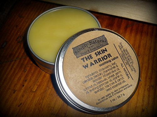 The Skin Warrior Salve - Natural Herbal Skin Salves - Simply Natural Soaps & Sundries (Chamomile Primrose Salve)
