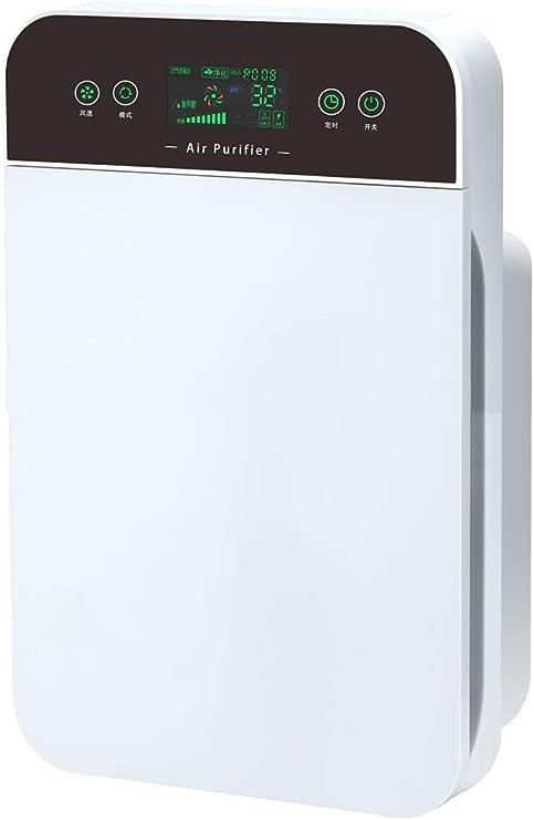 KKDWJ Purificadores de Aire para alergias con filtros HEPA Verdaderos y filtros de carbón Activo Limpiador de Aire para Mascotas domésticas Fumadores Que cocinan sin ozono: Amazon.es: Hogar