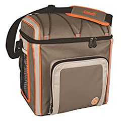 Keep your food and snacks cool from the park to the campsite with a Coleman 16 Can Removable Liner Cooler. In addition to the leak-free main compartment that's perfect for using with ice, the zippered front pocket lets you store extra snacks ...