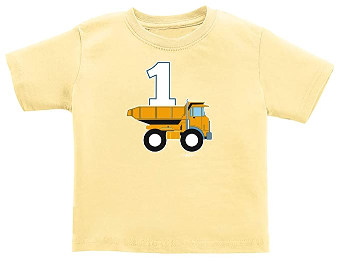 Amazon Baby Gifts For All 1st Birthday Dump Truck Infant T Shirt Clothing