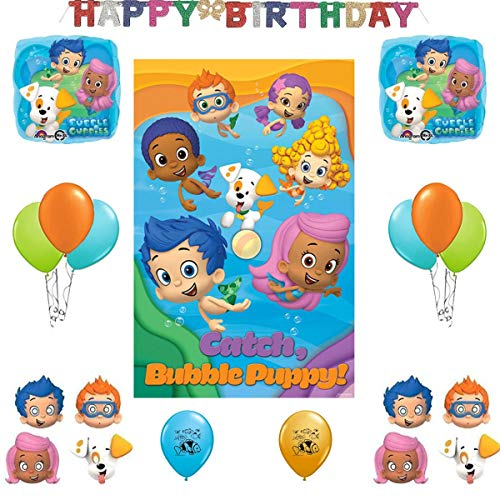Bubble Guppies Party Decoration Supplies Bundle]()