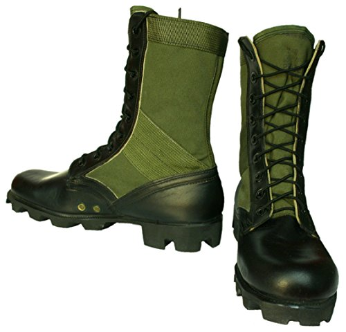 Boots, Panama Sole (Military Jungle Boots)
