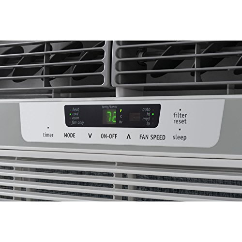 Frigidaire FFRH1222R2 12000 BTU 230-volt Compact Slide-Out Chassis Air Conditioner with 11000 BTU Supplemental Heat Capability by Frigidaire (Image #4)