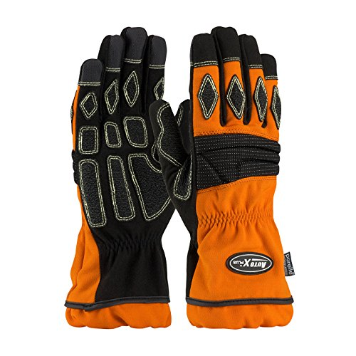 Extrication Glove with PTFE Breathable Vapor Barrier 911-AX9P/L, (72) - Barrier Extrication Gloves