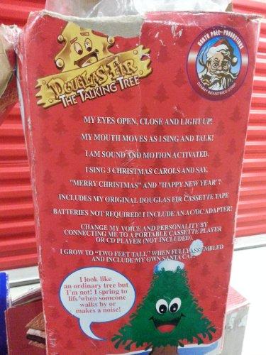 Douglas Fir the Talking Singing Holiday Tree 24