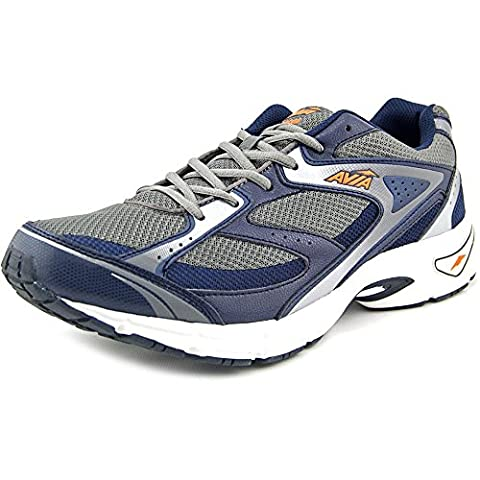 AVIA Men's Avi-Execute Running Shoe 10.5 (4E) Navy/Grey - Sport Turquoise Pendant