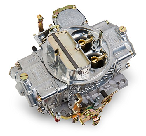 Holley 0-3310S Model 4160 Street Performance 750 CFM Square Bore 4-Barrel Vacuum Secondary Manual Choke New Carburetor (Barrel Vacuum Choke Manual Secondary)