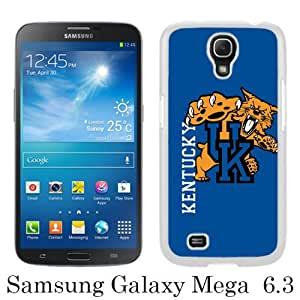 Fashionable Samsung Galaxy Mega 6.3 I9205 Case ,Unique Designed With kentucky wildcats white Samsung Galaxy Mega 6.3 I9205 Cover High Quality Phone Case