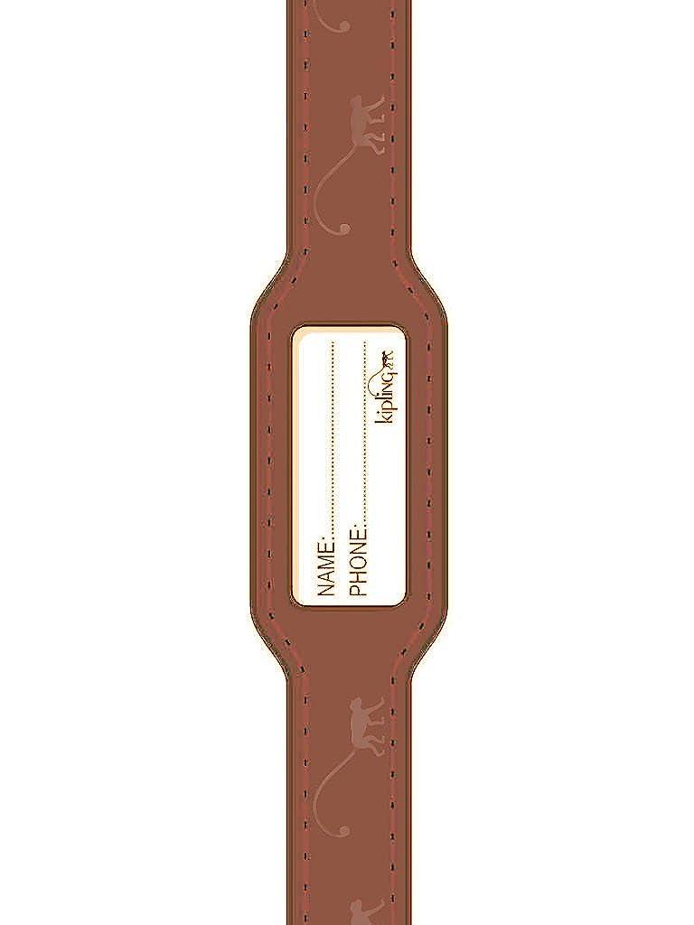 Kipling bambini braccialetto in pelle marrone identificazione 9400367