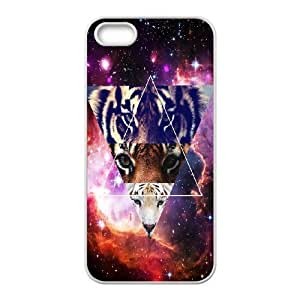 Cool Painting Tiger DIY Cover Case for Iphone 5,5S,personalized phone case case539101