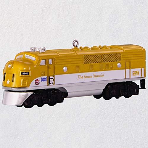 Hallmark Lionel Trains 2245P Gold Texas Special Locomotive Metal Ornament (Pre War Lionel Trains)