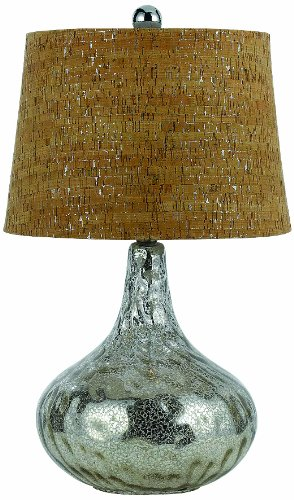 Silver Lamp Af Table Lighting (AF Lighting 8264-TL Clifton Table Lamp)