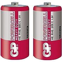 GP 14ER-S2 Powercell Zn-C C/R14 (1.5V, 2-pack)