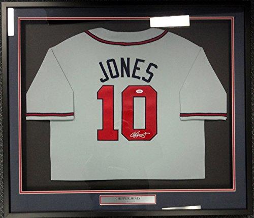 Atlanta Braves Chipper Jones Framed - 7