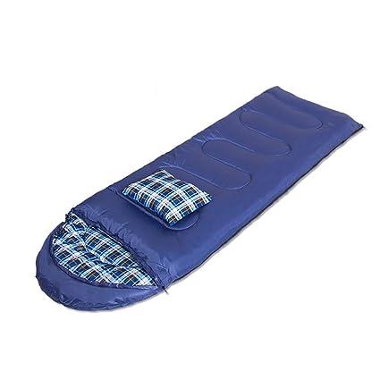 Saco de dormir LCSHAN Poliéster Adulto Viaje de Camping A Prueba de Humedad Grueso Calentar algodón (Capacidad : C, Color : Azul Oscuro): Amazon.es: Hogar