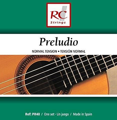 Royal Classsics PR40 - Cuerdas para guitarra, tensión normal: Amazon.es: Instrumentos musicales