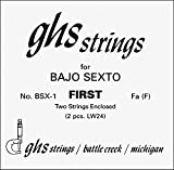 GHS Bajo Sexto First Pair Guitar Strings