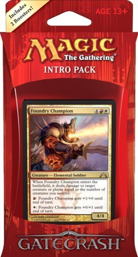 Magic the Gathering (MTG) Gatecrash Intro Pack: Boros Battalion (Includes 2 Booster Packs)