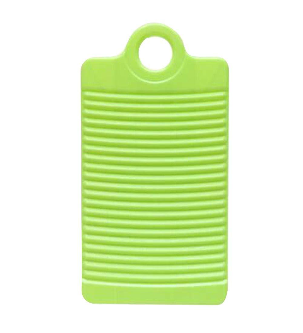 Fashion Washboard Non-Slip Washboard Travel Laundry Washboard Green