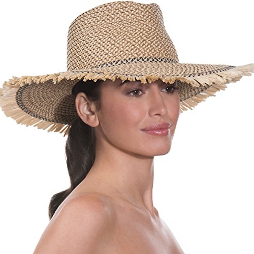 Eric Javits Luxury Fashion Designer Women's Headwear Hat - Havana - Peanut by Eric Javits