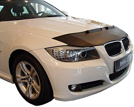 Hood Bra for BMW 3 E90 E91 CARBON Bonnet Car Bra Front End Cover Nose Mask Stoneguard Protector TUNING