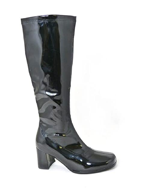 Ladies–Botas de disfraz de Go Go, fiesta de añ