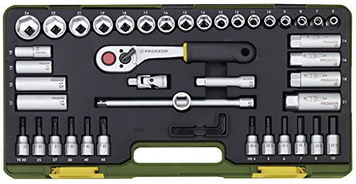 PROXXON 23282 Nusskasten Knarrenkasten Antrieb 10mm (3/8