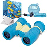 Marppy 8X21 Binoculars For Kids, High Resolution Real Optics Shock Proof Binocular Toy for Boys and Girls, Bird Watching, Outdoor Play, Binoculars Set For Children Review